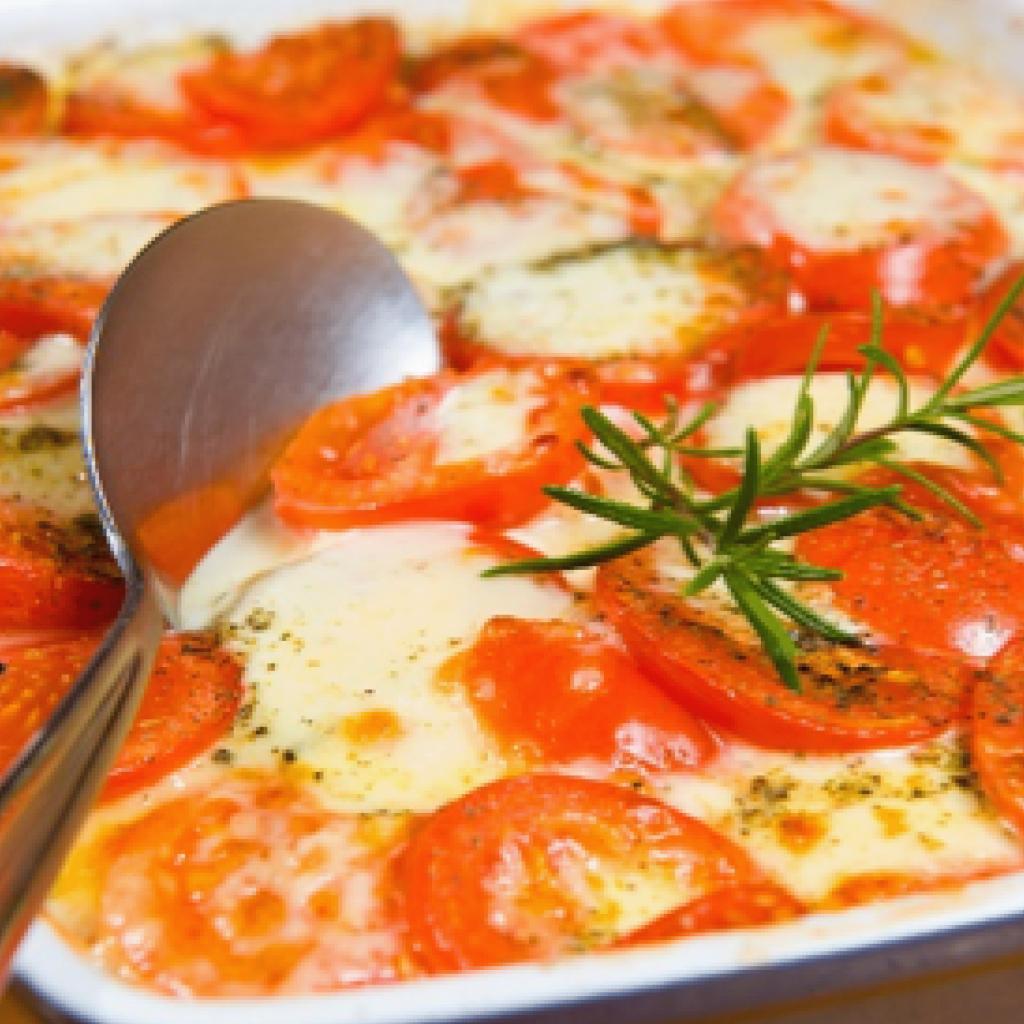 Ensalada tomate y queso