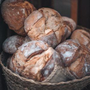 Pan de espelta y castañas